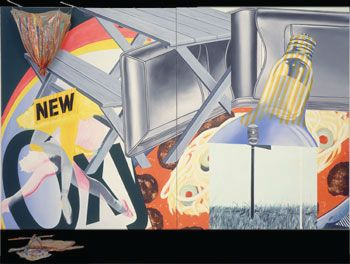 James Rosenquist  Nomad  o/c, plastic and wd 1963