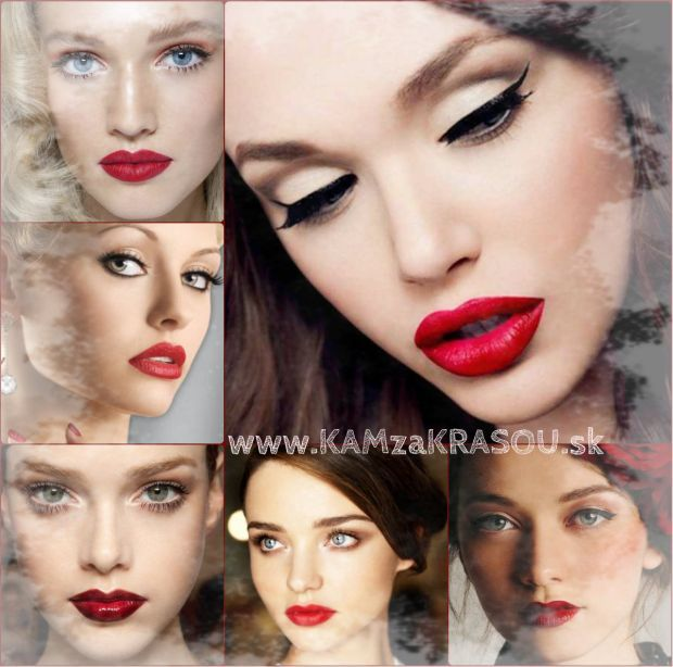 Nápady na vianočné líčenie - KAMzaKRÁSOU.sk #kamzakrasou #krasa #love #beauty #make-up #mekeup #hair #hairstyle #eyes #tutorials