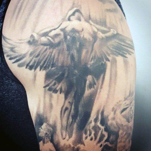 best 25 men arm tattoos ideas on pinterest guy arm tattoos wing tattoo arm and arm tattoos. Black Bedroom Furniture Sets. Home Design Ideas