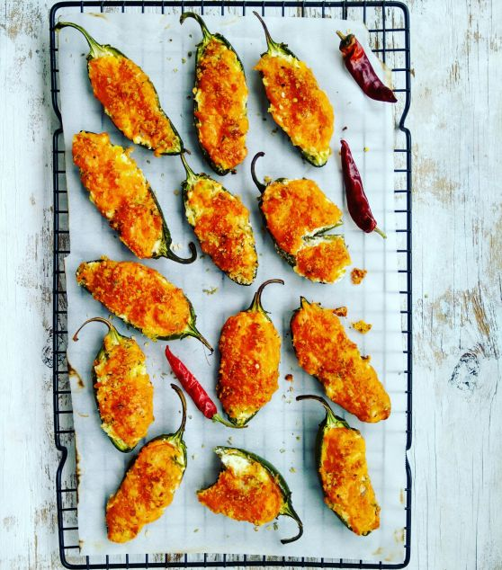 Jalapeno Poppers: One of my favourite appetizers!