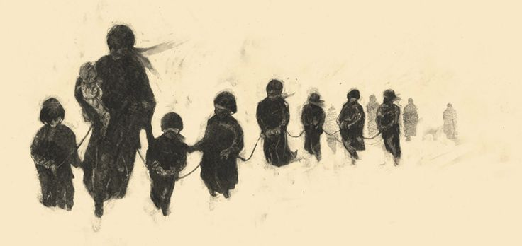 Blizzard of 1888 ravaged the Plains - my dad used to tell about his grandma holding on to a rope to get home from school in this blizzard