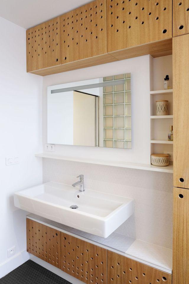 Des meubles sur mesure pour optimiser la salle de bains