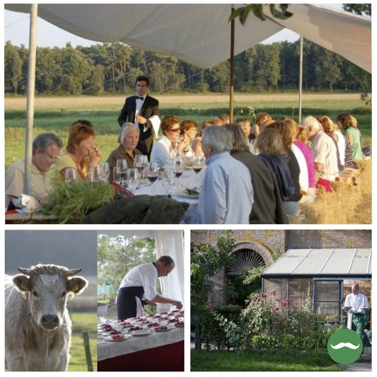Benieuwd naar een diner tussen de koeien? Of aan lange tafels genieten in de boomgaard? Via deze website kun je een Boergondisch feestmaal op het boerenerf boeken