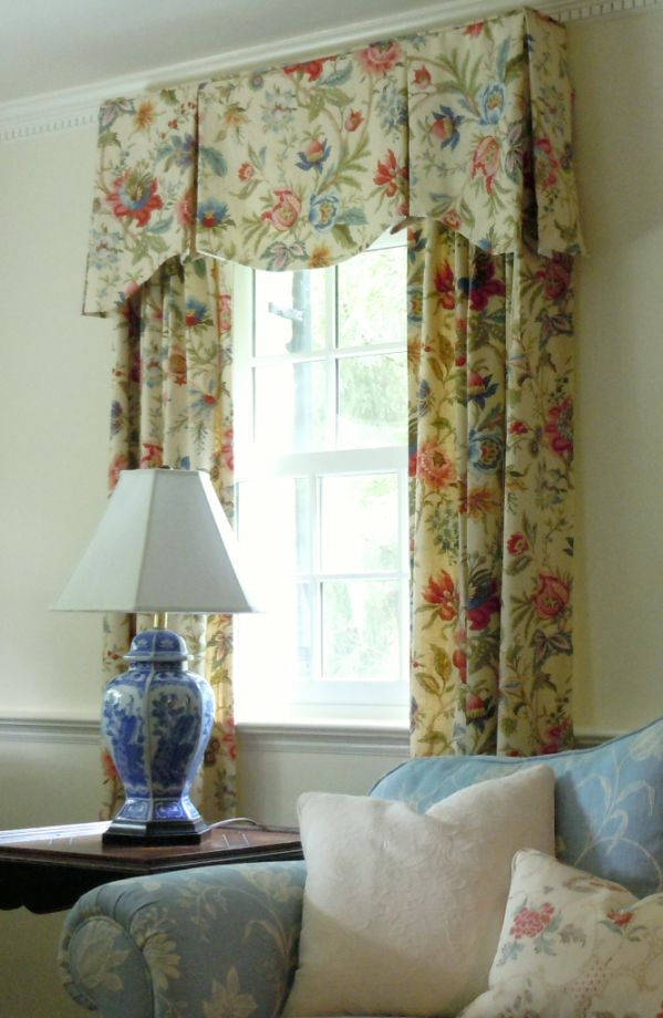 window treatment for a traditional home