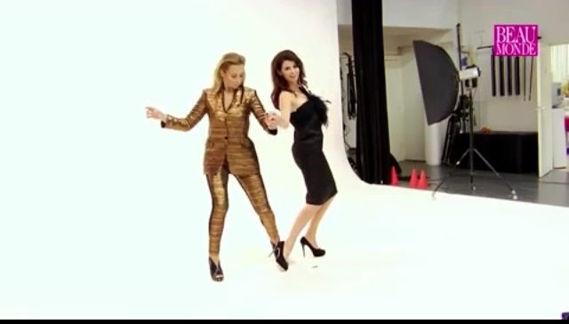 Cynthia en Caroline GTST Shoot Beau Monde