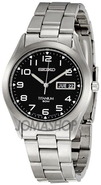 Seiko Titanium Mens Watch SGG711