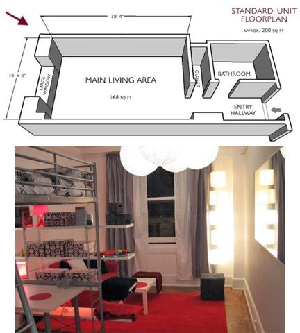 200 Sq. Ft. Living Downtown Part 38