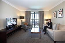 DH Rotorua - Hotel 'Smart' Suite Lounge 0123 Distinction Hotels Rotorua, Hotel & Conference Centre