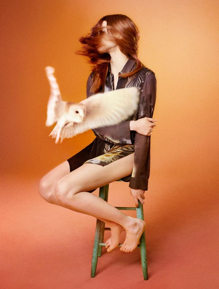 Edun Enlists Ryan McGinley for Its Fall 2012 Campaign Featuring Birds of PreyBirds Of Prey, Ads Campaigns, Fall 2012, Ryan Mcginley, Barns Owls, Fashion Photography, Fashion Ads, Edun, Ryanmcginley