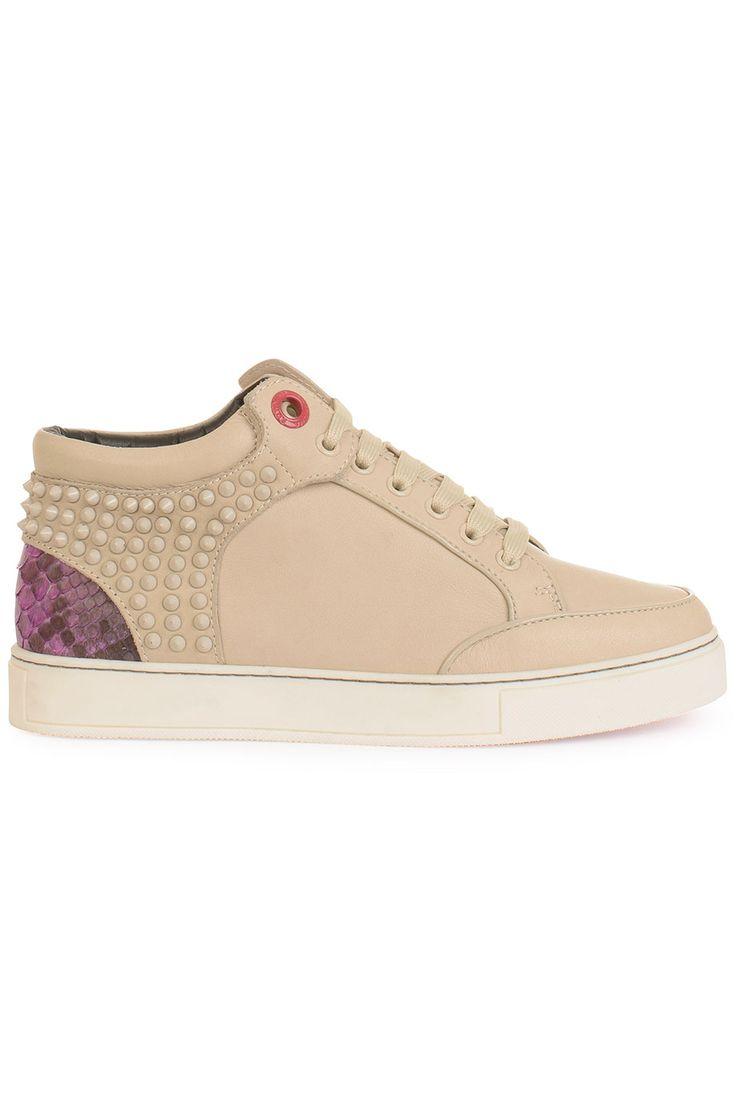 Fraaie Royaums kilian, KL01BEW beige (beige) Dames sneakers van het merk royaums . Uitgevoerd in beige.