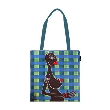 "Tote bag ""Just a girl""  by yapwilli   http://www.envelop.eu/shop/articles/details/p/just-a-girl"