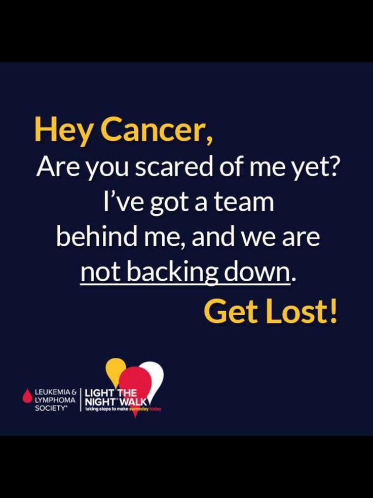 Leukemia and Lymphoma Society - Light the Night walk.