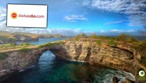 Iklan Televisi AirAsia Go Telusur Nusantara