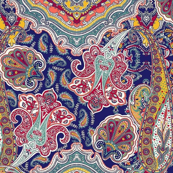 This is one of the patterns I made for work. We made a wide leg pant with it and it killed it in Sfera stores last summer! --- Hice este estampado para unos pantalones anchos muy fluidos que se vendieron genial el verano pasado en Sfera. #mariaysasi #colorful #paisley #paisleyprint #print #printandpattern #pattern #patterndesign #work #sfera #surfacedesign #instaprint #instapattern