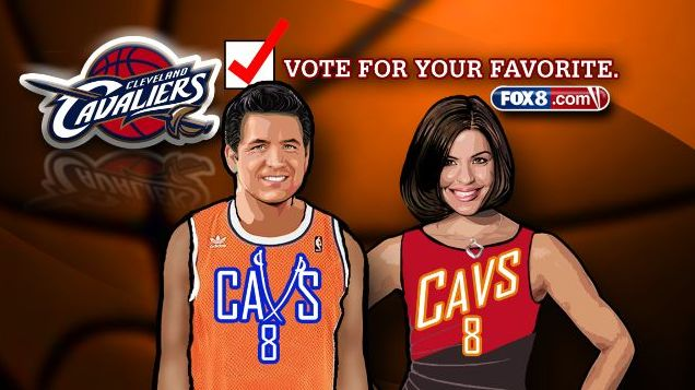 What's your vote? Melissa and Gabe battle for best new Cavs uniform