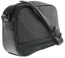 Versace Ee1yobb56 Em08 Black/brown Mens Messenger Bag.