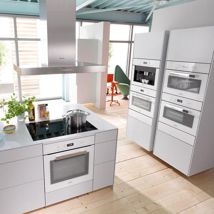 17 beste afbeeldingen over witte keuken op pinterest samsung ontwerp en keuken interieur - Witte keuken voorzien van gelakt ...