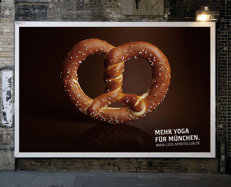 Hello München | Werbeagentur für Kommunikation | München - Plakataktion Yogakurse
