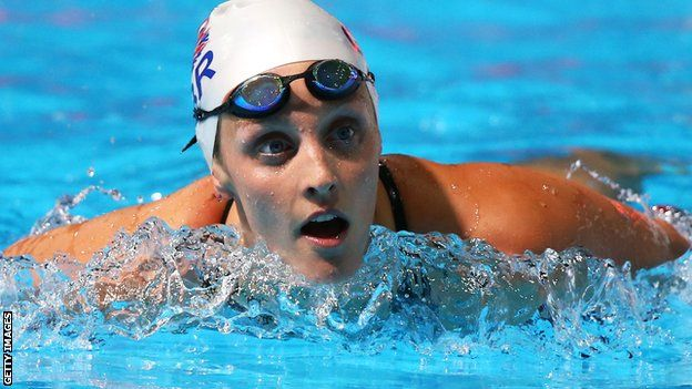 """World Championships bronze medallist Fran Halsall believes """"improving"""" British swimmers can help Europe win the Duel in the Pool in Glasgow."""
