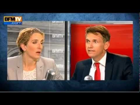 Delphine Batho sur Bourdin direct - Gaz de schiste (20-07-2012)