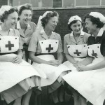 14) Newton Aycliffe, County Durham, England (NA Red Cross nurses