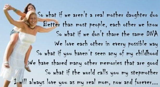 Happy Mothers Day Poem For Stepmom