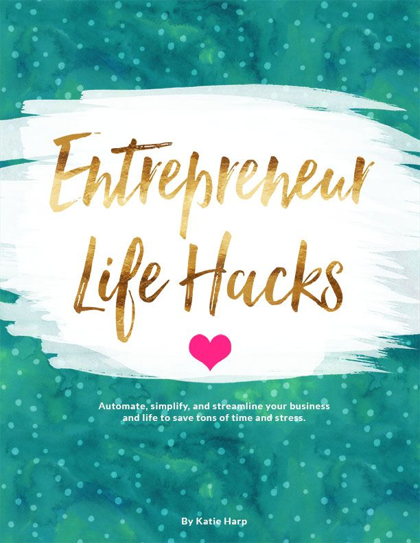 Are you overwhelmed and stressed out as an entrepreneur?  Don't fret - I can…