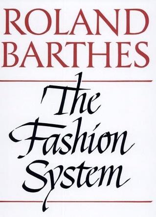 roland barthes essays on fashion