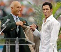 Brady Anderson now VP of baseball operations for the O's  AND his buddy Cal Ripken Jr.  Two for the price of one!!!!!