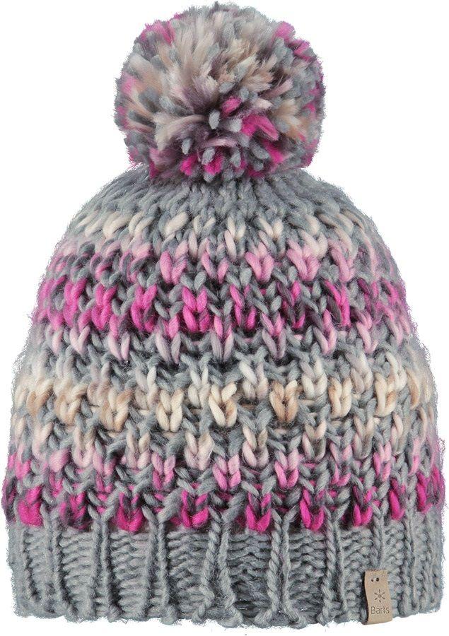 Barts Women's Nicole Ski/Snowboard Beanie Bobble Hat, Heather Grey