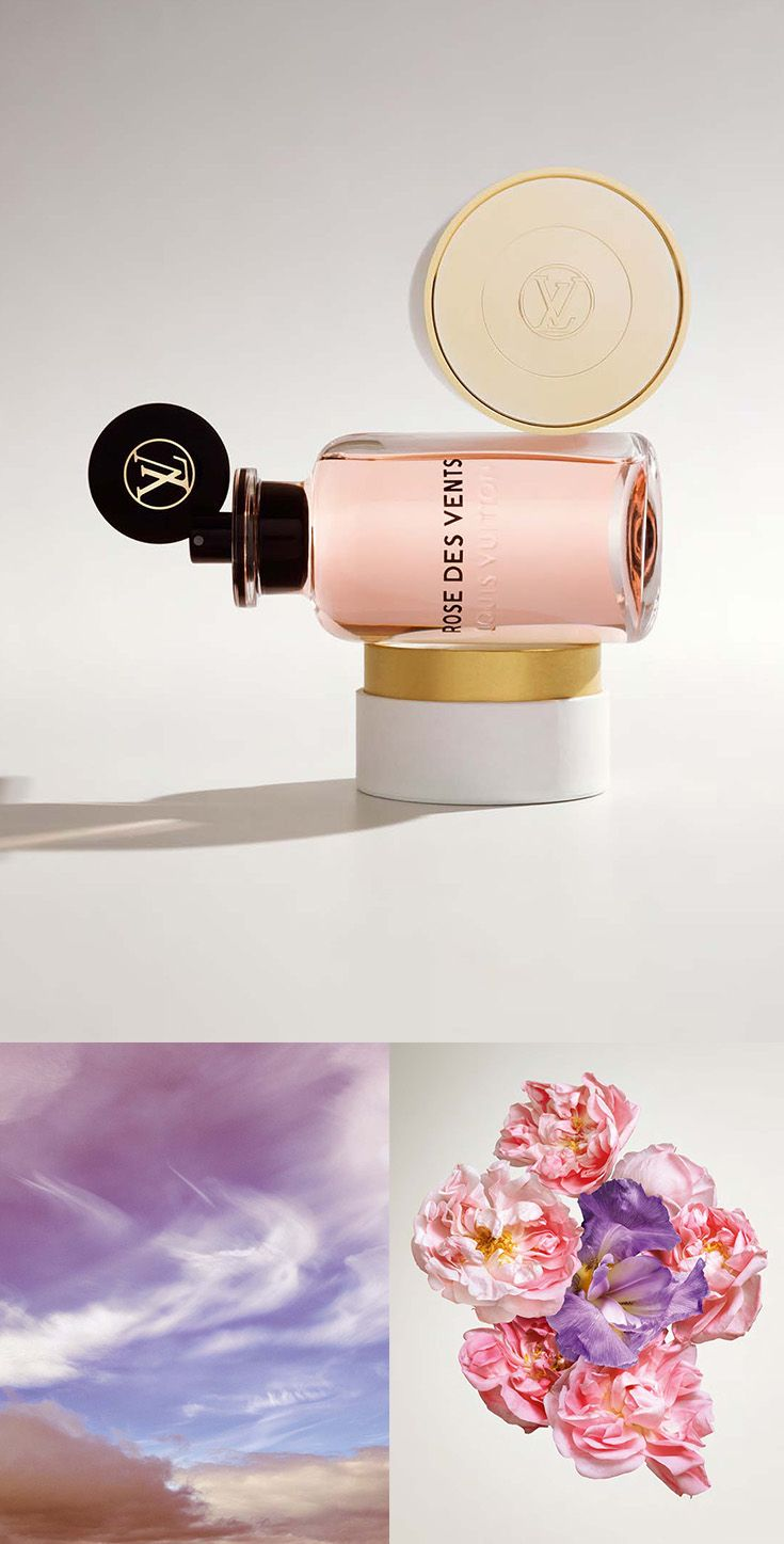 Rose des Vents Les Parfums Louis Vuitton - A whisper of petals opens up new horizons.