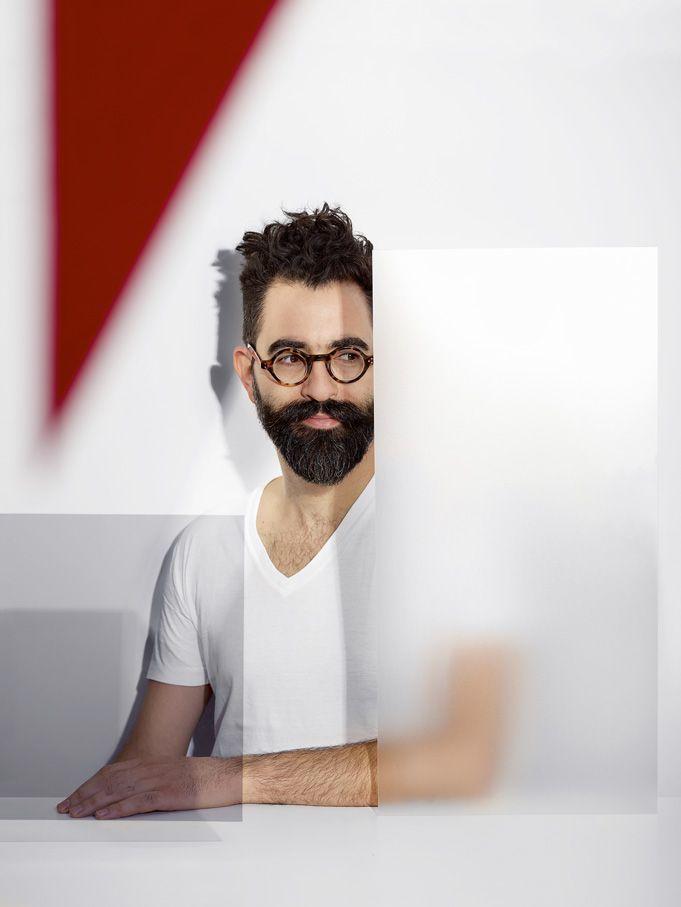"""Les designers de l'ombre, Nicolas """"Barth"""" Nussbaumer. © Cédric Widmer"""
