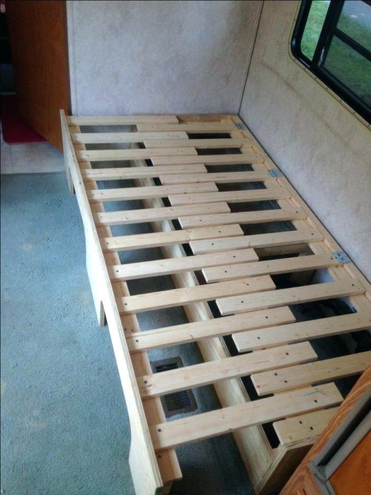 Image Result For Diy Folding Bed Campervan Bed Camper