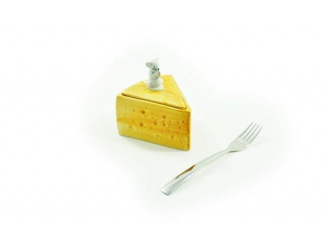 Pojemnik ceramiczny do przechowywania sera #leceramiche #ceramika #włoska #ceramics #italian #italianfood #italiano #lemon #talerz #plate #triangle #mouse #mysz #ser #cheese #highquality #giftideas #box #gadgets #home #inspirations #design #homedecor #onemarket.pl