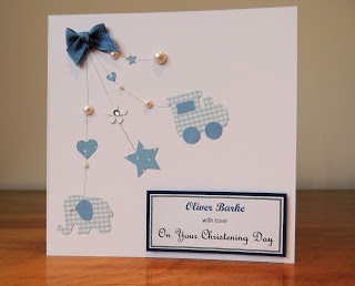 The Card Craft Room: Christening Card
