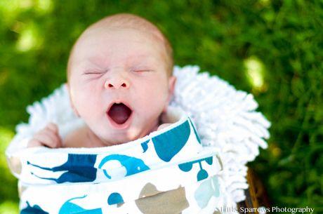 Santa Barbara New Born Session: The Adorably Elijah. Big yawns this day!