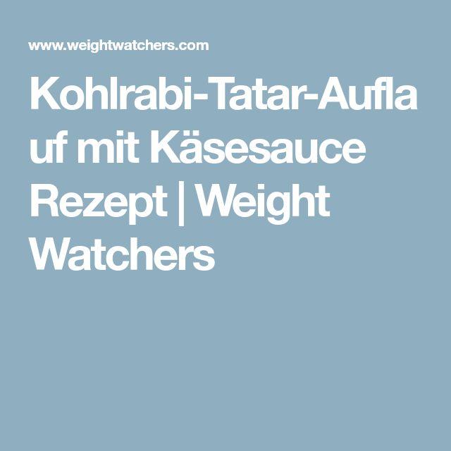 Kohlrabi-Tatar-Auflauf mit Käsesauce Rezept | Weight Watchers
