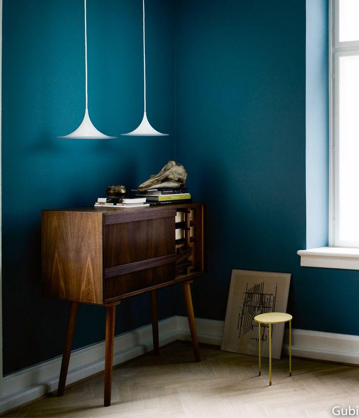 Du bleu dans la maison - Bureau