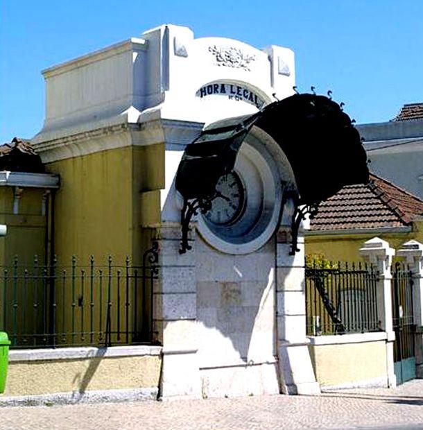 Antigo relógio da Praça Duque da Terceira, Cais do Sodré