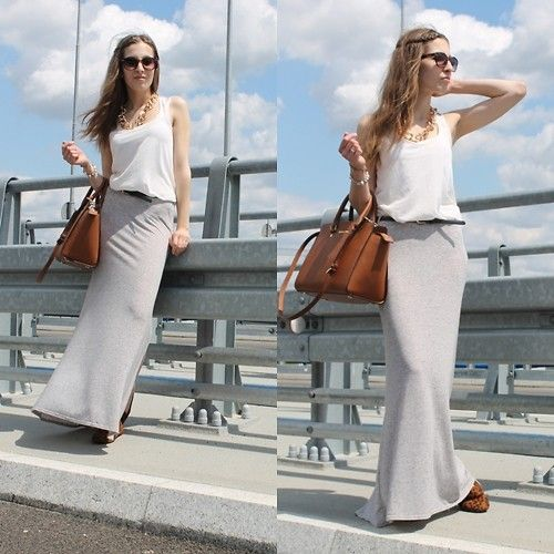 Michael Kors Selma Bag, New Look Skirt, H Tee