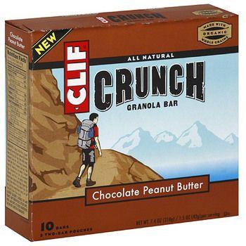 Clif Bar Organic Crunch Chocolate Peanut Butter (12x7.4 Oz)
