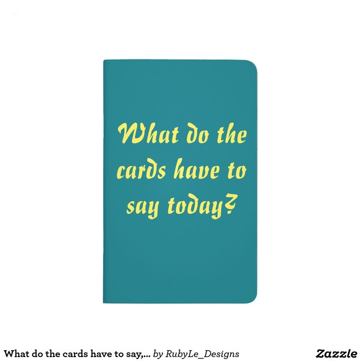 What do the cards have to say Perfect Tarot Journal