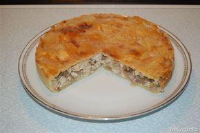 La Chicken pie è una torta salata ripiena di pollo di origine britannica, preparata con un guscio di pasta brisèè e un ripieno gustoso di pollo e