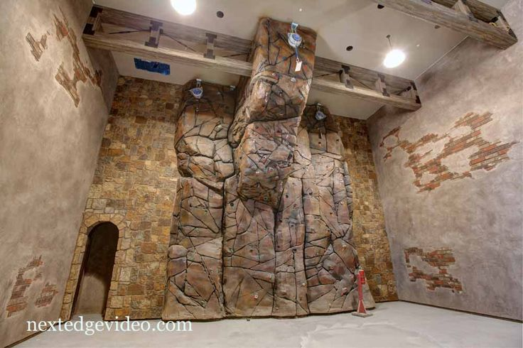 Climbing walls in homes arizona s most expensive house