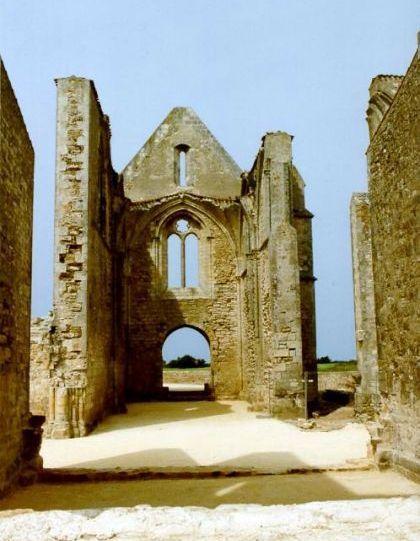 abbaye des Châteliers à la Flotte Ile de Ré