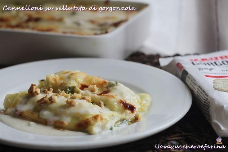 cannelloni cream of gorgonzola