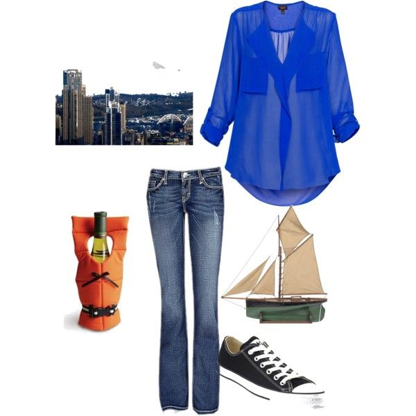 Ana Steele~Sailing with her Fifty, created by jamymartin on Polyvore