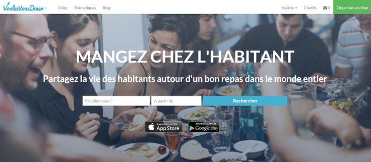 Concept de repas chez l'habitant ! A développer sur #Rennes... #food #gastronomie