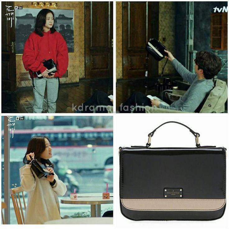 "916 lượt thích, 19 bình luận - @kdrama_fashion trên Instagram: ""Kim Go Eun's bag in Goblin Drama Episode 9. Bag: PAULS BOUTIQUE MIDDLE NICOLE/BLACK & BEIGE…"""
