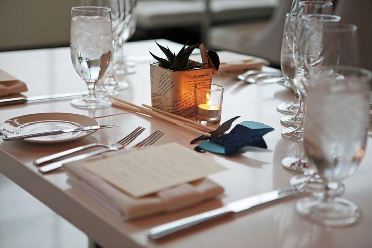 Wedding Table in Amuse Restaurant at Le Meridien Arlington!